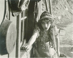 still from The Mender of Nets, 1912