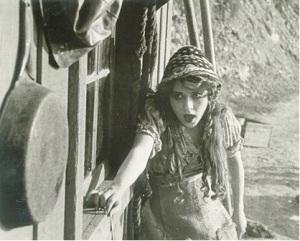 still from The Mender of Nets, 1912