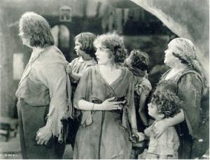 dramatic moment in Rosita, 1923